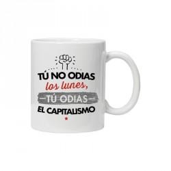 Taza NO ODIAS LOS LUNES